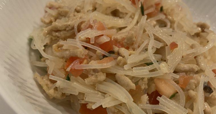 Spicy thai glasnudelsalat