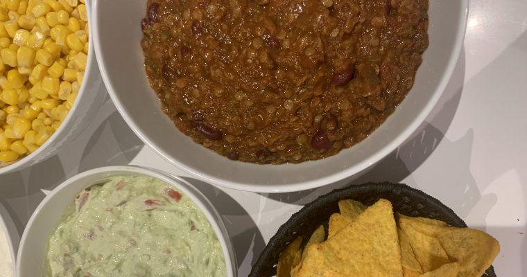 Chili sin carne – chili con carne uden kød